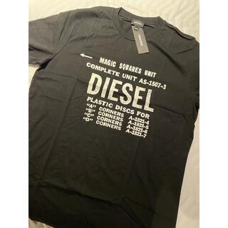 DIESEL - 速攻でーん!超かっこいい!L まだ新作ディーゼル ペンキ加工Tシャツ 未使用
