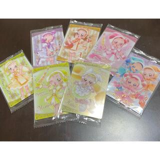 7枚 おジャ魔女どれみ ウエハース カード セット ハナちゃん コレクション