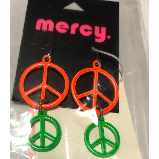 mercy.(マーシー)のmercy. ピアス レア  新品未開封 倖田來未 レディースのアクセサリー(ピアス)の商品写真