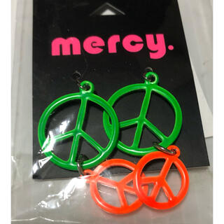 マーシー(mercy.)の新品 倖田來未 mercy. ピアス レア  (ピアス)