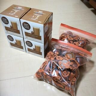 Nestle - ♪ネスカフェ ドルチェグスト 専用カプセル カフェオレ 16杯分×4箱+60杯