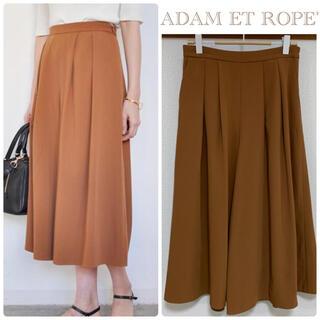 アダムエロぺ(Adam et Rope')の【格安】ADAM ET ROPE'スカーチョ*キャメル サイズ36 ガウチョ(カジュアルパンツ)