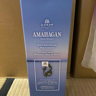 AMAHAGAN ワールドブレンディド ノンチルフィルター2016終売品(ウイスキー)