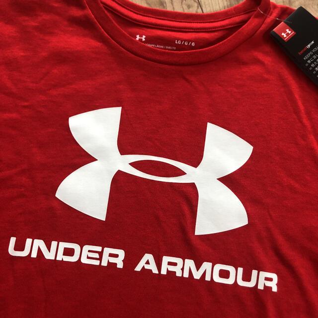 UNDER ARMOUR(アンダーアーマー)の☆新品☆アンダーアーマー メンズヒートギアTシャツ レッド XL メンズのトップス(Tシャツ/カットソー(半袖/袖なし))の商品写真