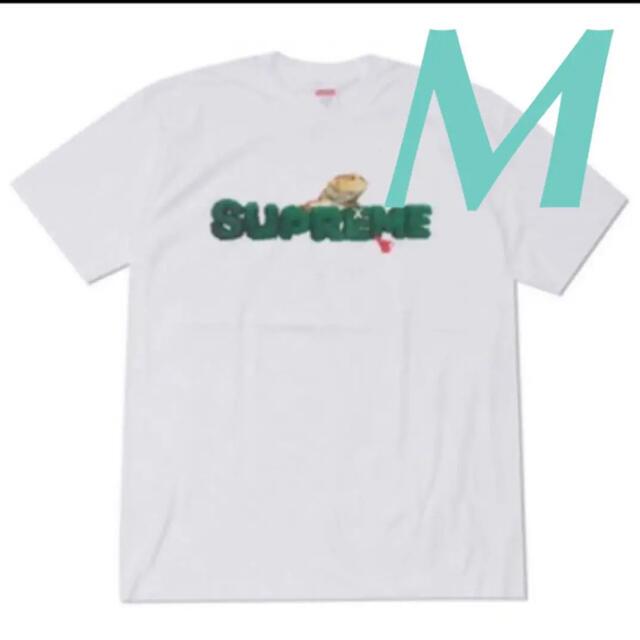 Supreme(シュプリーム)のSupreme Lizard tee 20ss White サイズM 新品未開封 メンズのトップス(Tシャツ/カットソー(半袖/袖なし))の商品写真
