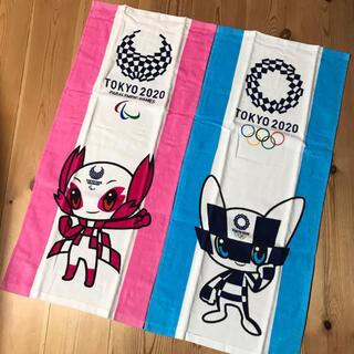 ★ 東京2020 オリンピック マスコット ☆フェイスタオル 2枚セット