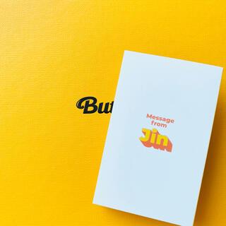 ボウダンショウネンダン(防弾少年団(BTS))のBTS 防弾少年団 Butter ジン JIN トレカ メッセージカード(K-POP/アジア)