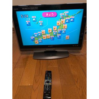 アクオス(AQUOS)のSHARP AQUOS DVD、Blu-ray内蔵 液晶テレビ LC-26DV7(テレビ)