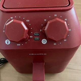 レコルト Air Oven エアーオーブン ノンフライヤー RAO-1 レッド
