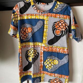コムデギャルソン(COMME des GARCONS)のコムデギャルソン アフリカンTシャツ(Tシャツ(半袖/袖なし))