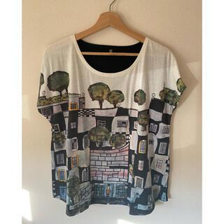 グラニフ(Design Tshirts Store graniph)の美品!Design T-shirt store graniph のレディースT(Tシャツ(半袖/袖なし))