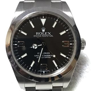 ROLEX - 毎日千円値下★直接手渡★ロレックス エクスプローラー1/214270、ギャラ有