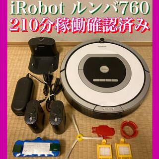 iRobot - バッテリーほぼ新品⭐︎日本正規品⭐︎iRobot ルンバ760 時短家電