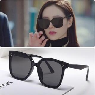 黒 サングラス 黒縁メガネ 眼鏡 愛の不時着 韓国 ZARA
