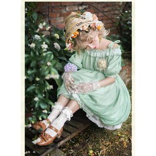 北欧中世 ヨーロッパ姫 森ガール豪華ドレスセットM(衣装一式)