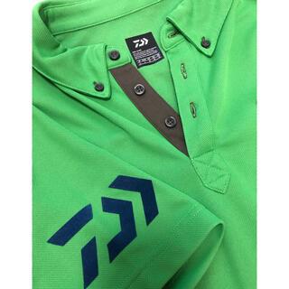 DAIWA - ダイワ ポロシャツ グリーン Lサイズ