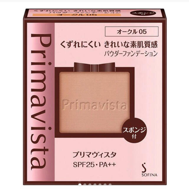 Primavista(プリマヴィスタ)のプリマヴィスタ きれいな素肌質感パウダーファンデーション レフィル オークル05 コスメ/美容のベースメイク/化粧品(ファンデーション)の商品写真