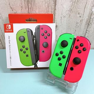 美品 人気カラー スプラトゥーン Switch 左右セット ジョイコン