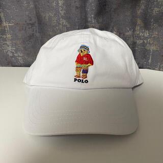 Ralph Lauren - POLO RALPH LAUREN キャップ 野球帽 ホワイト パーカー ポロベ