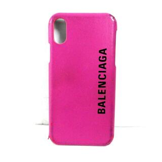 バレンシアガ(Balenciaga)のバレンシアガ 携帯電話ケース - レザー(モバイルケース/カバー)