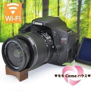 Canon - キヤノン Kiss X5☆液晶画面が動く一眼レフ♪スマホ転送OK☆1868