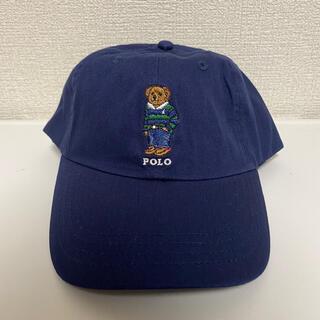 ラルフローレン(Ralph Lauren)のPOLO RALPH LAUREN キャップ 野球帽 ネイビー ポロベアー(キャップ)