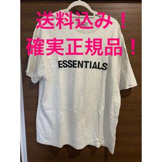 FEAR OF GOD - 送料込み!essentials半袖Mサイズ灰色fog fear of god