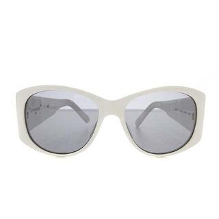 CHANEL - シャネル サングラス 眼鏡 ウェリントン プラスチックフレーム ココマーク 白