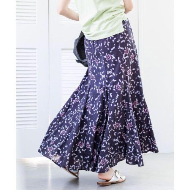 IENA(イエナ)のIENA イエナ  MARIHA マリハ 夢見るマーメイドのスカート 花柄 レディースのスカート(ロングスカート)の商品写真