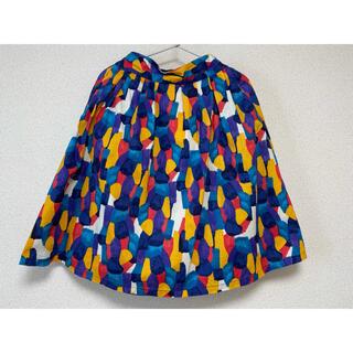 グラニフ(Design Tshirts Store graniph)のグラニフ 孔雀のようなカラフルスカート(ひざ丈スカート)