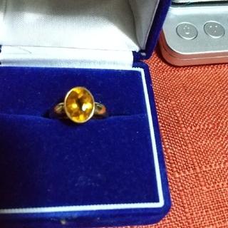 ジュンコシマダ(JUNKO SHIMADA)のトパーズ、リング  K18(リング(指輪))