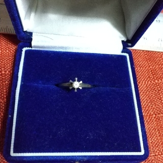 プラチナ  ダイヤリング(リング(指輪))