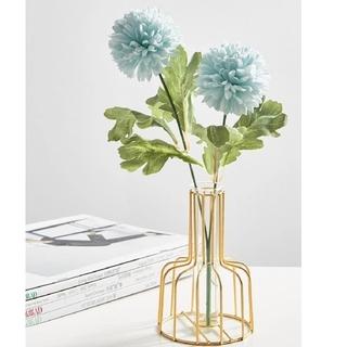 韓国 雑貨 インスタ映え ゴールドワイヤー フラワーベース 花瓶  オシャレ