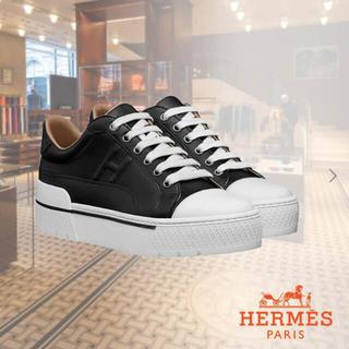 Hermes - 8月お値下げ中エルメス HERMES スニーカー ボルテージスニーカー新品未使用