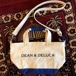 ディーンアンドデルーカ(DEAN & DELUCA)のDEAN & DELUCA ショルダー付きキャンバストートバッグ(ショルダーバッグ)