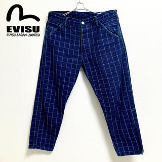 エビス(EVISU)のEVIS Lot.5500 evisu エヴィス グレンチェックパンツ(デニム/ジーンズ)
