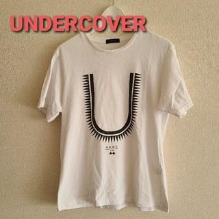 UNDERCOVER - UNDERCOVERアンダーカバー フロントロゴプリントTシャツsize2