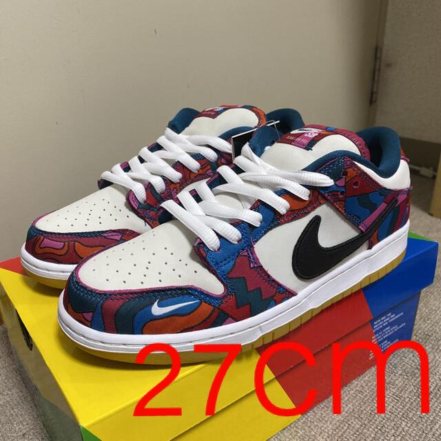 NIKE(ナイキ)のPIET PARRA x NIKE SB PRO DUNK LOW QS  メンズの靴/シューズ(スニーカー)の商品写真