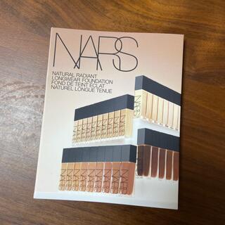 ナーズ(NARS)のNARS ナチュラルラディアントロングウェアファンデーション サンプル(サンプル/トライアルキット)