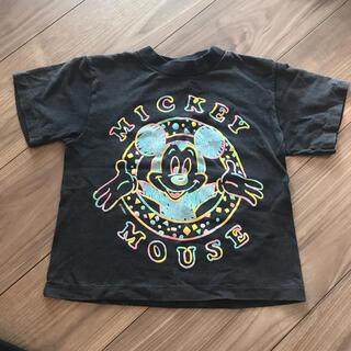 ミッキーマウス(ミッキーマウス)のディズニー ミッキー 柄ヴィンテージTシャツ キッズ アメリカ製 USA(Tシャツ/カットソー)