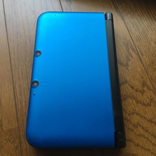 任天堂(ニンテンドウ)のNintendo 3DS  LL 本体ブルー/ブラック 中古品 エンタメ/ホビーのゲームソフト/ゲーム機本体(携帯用ゲーム機本体)の商品写真