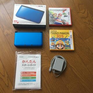 任天堂 - Nintendo 3DS  LL 本体ブルー/ブラック 中古品