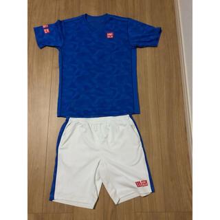 ユニクロ(UNIQLO)のユニクロ uniqlo シャツ パンツ テニス ウェア フェデラー 錦織(ウェア)