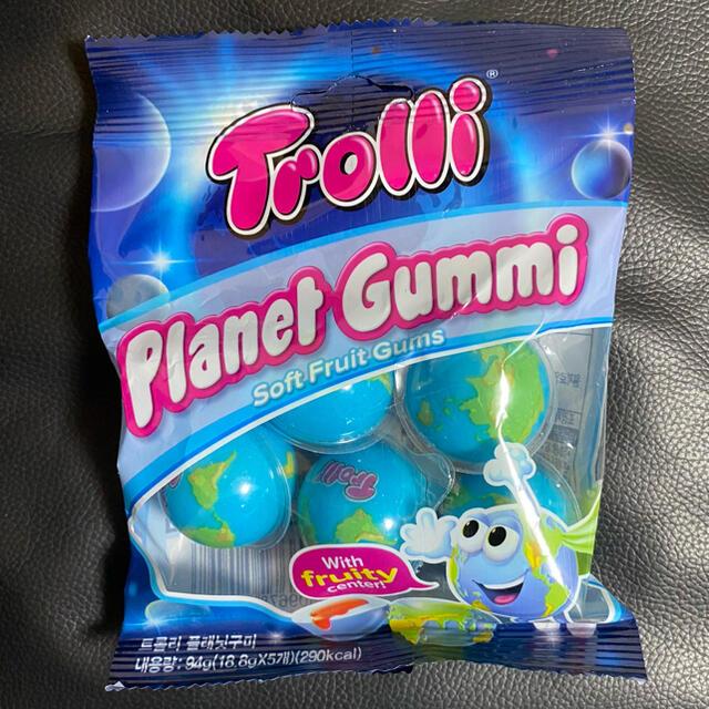 KALDI(カルディ)の正規品 Trolli 地球グミ 5個セット asmr 食品/飲料/酒の食品(菓子/デザート)の商品写真