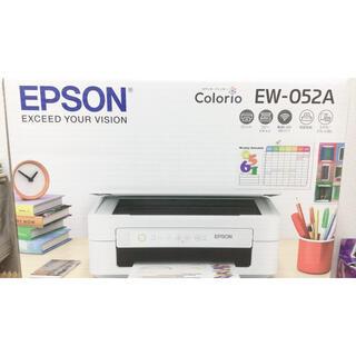 EPSON - EPSON エプソン プリンター カラリオ EW-052A インク欠品