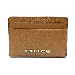 マイケルコース(Michael Kors)のマイケルコース カードケース美品  -(名刺入れ/定期入れ)