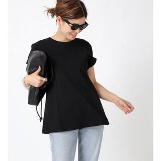 DEUXIEME CLASSE - Deuxieme Classe CELERI/セルリ AラインTシャツ ブラック
