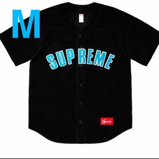 Supreme - Supreme 18ss Corduroy Baseball Jersey