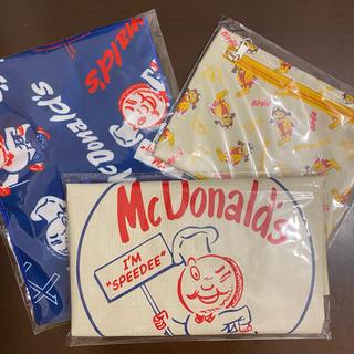 マクドナルド - マクドナルド ビッグスマイルバッグ