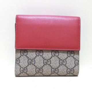 Gucci - GUCCI(グッチ) Wホック財布 410104
